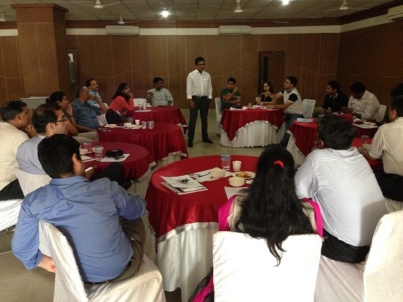 PeerStrat on May 17 2014 New Delhi